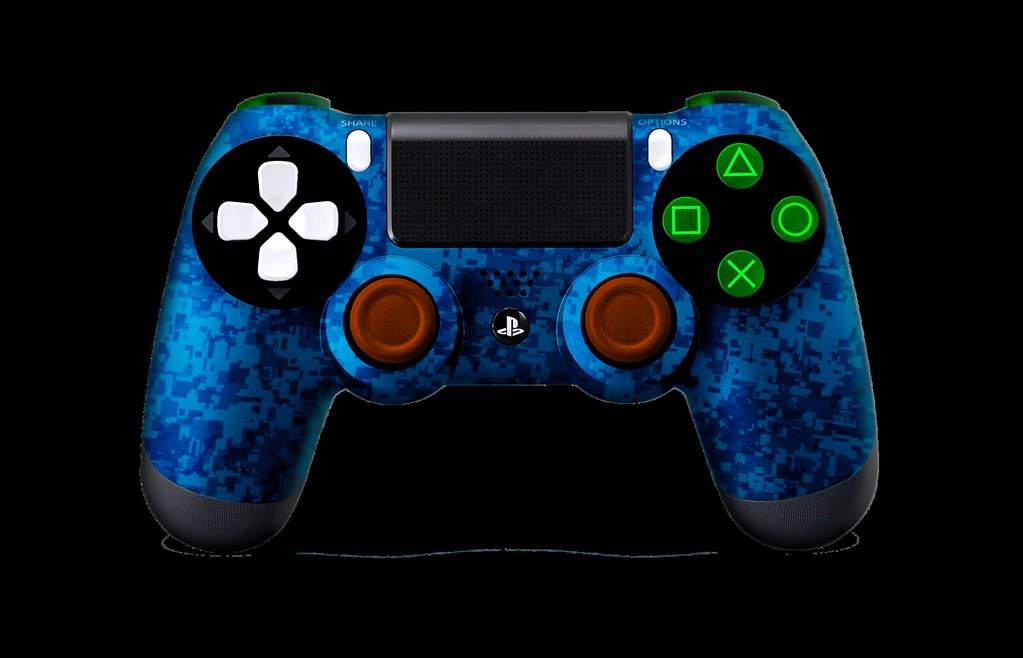 customized ps4 controller diy