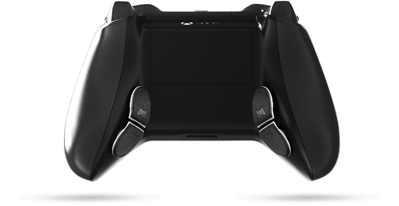 back view of customized XB1 controller